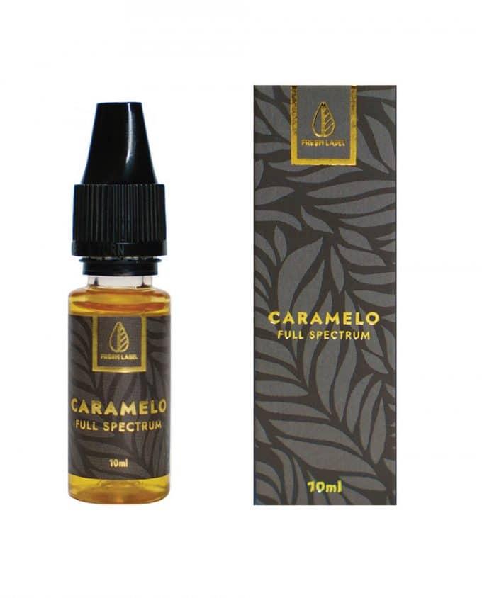 E-liquide CBD Full Spectrum Caramelo